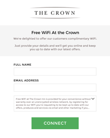 WiFi Data at The Crown